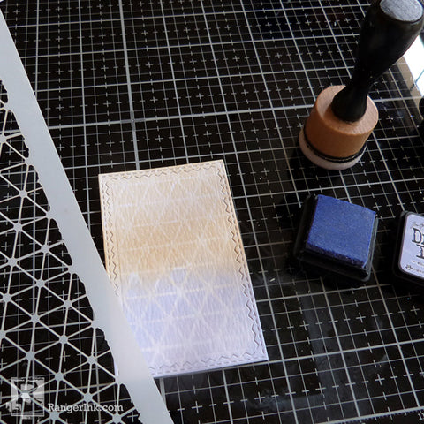 Speckled Embossing Powder Tags Step 6