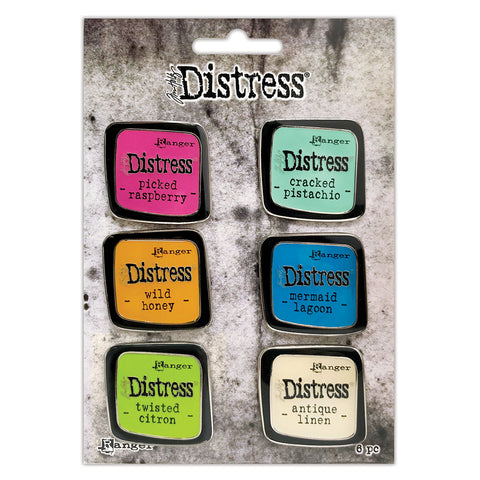 Tim Holtz Distress® Enamel Pin Set #1