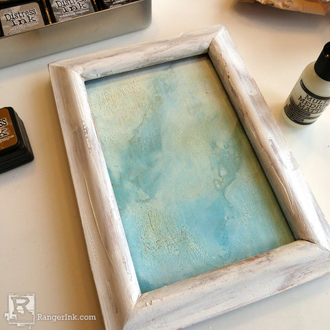 Tim Holtz Distress So Lucky Frame step 4