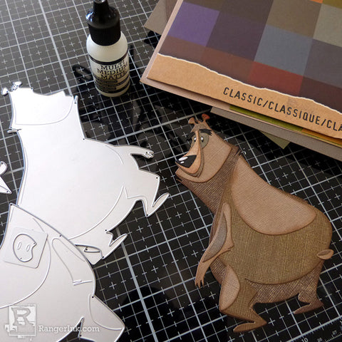 Tim Holtz Distress So Lucky Frame step 5