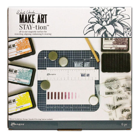 "MAKE ART 7"" STAY-TION"