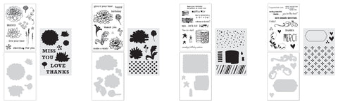 STAMP, DIE, STENCIL SETS