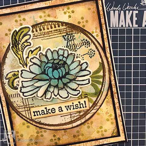 Wendy Vecchi  Make Art Make A Wish Card