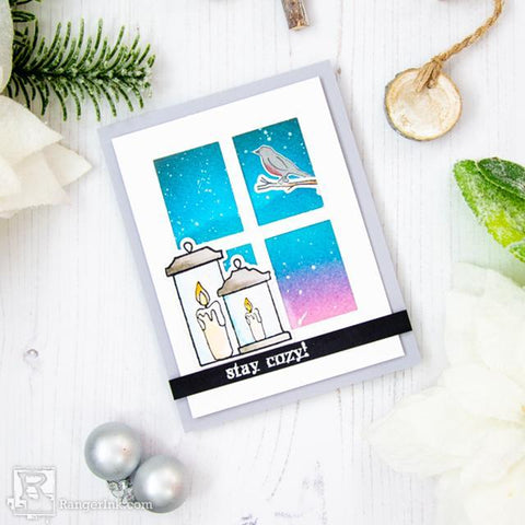 Winter Scene Card by Laura Volpes