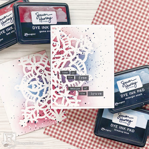 Simon Hurley create. Patriotic Card Finished