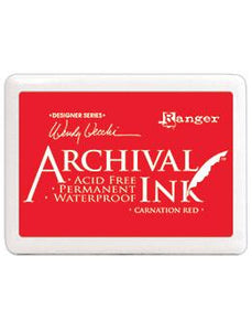 Wendy Vecchi Jumbo Archival Ink™ Pads Carnation Red