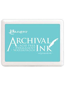 NEW! Jumbo Archival Ink™ Pads Aquamarine