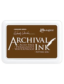 Wendy Vecchi Archival Ink™ Pad Potting Soil Ink Pad Wendy Vecchi