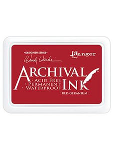 Wendy Vecchi Archival Ink™ Pad Red Geranium Ink Pad Wendy Vecchi