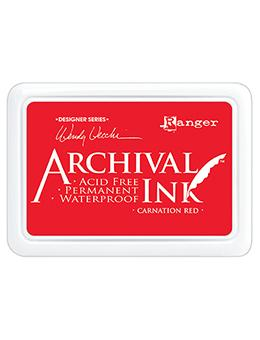 Wendy Vecchi Archival Ink™ Pad Carnation Red Ink Pad Wendy Vecchi