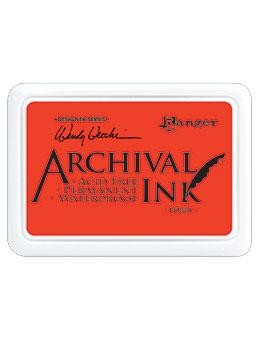 NEW! Wendy Vecchi Archival Ink™ Pad Poppy