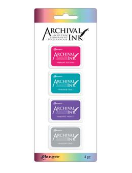 Mini Archival Ink™ Pad Kit 4 Mini Archival Kits Archival Ink