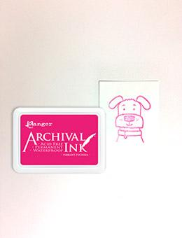 Archival Ink™ Pads Vibrant Fuchsia Archival Ink Archival Ink