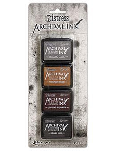 Tim Holtz® Distress Mini Archival Ink™ Kit #3 Kits Distress