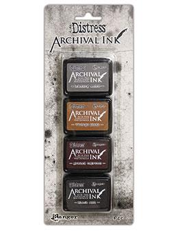 NEW! Tim Holtz® Distress Archival Mini Ink Kit #3