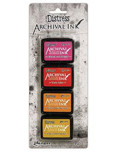 NEW! Tim Holtz® Distress Archival Mini Ink Kit #1