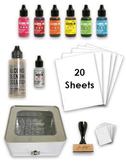 Tim Holtz® Alcohol Ink Starter Kit Bundles Alcohol Ink