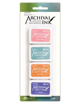 NEW! Wendy Vecchi Mini Archival Ink™ Pad Kit 3