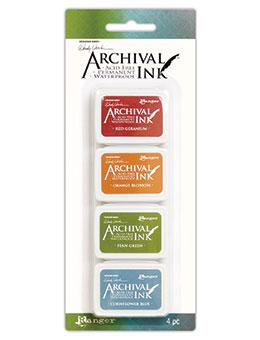 NEW! Wendy Vecchi Mini Archival Ink™ Pad Kit 4