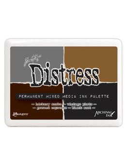 Tim Holtz Distress® Mixed Media Ink Palette Archival Ink Tim Holtz