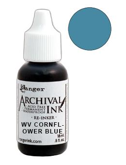 Wendy Vecchi Archival Ink™ Pad Re-Inker Cornflower Blue, 0.5oz Ink Wendy Vecchi