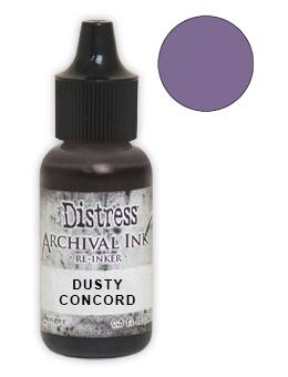 Tim Holtz® Distress Archival Re-Inker Dusty Concord .5 oz Ink Distress