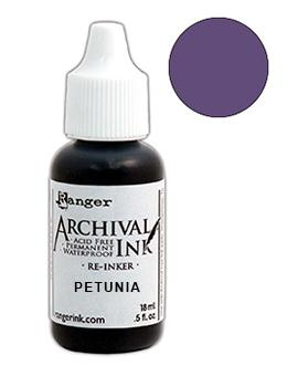Wendy Vecchi Archival Ink™ Pad Re-Inker Petunia, 0.5oz Ink Wendy Vecchi