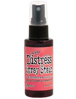 Tim Holtz Distress® Spray Stain Abandoned Coral, 2oz Spray Stain Tim Holtz