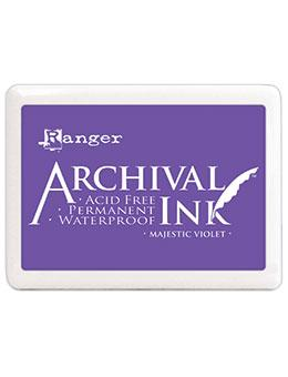 Jumbo Archival Ink™ Pads Majestic Violet Archival Ink Archival Ink
