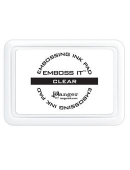Emboss It™ Ink Pad Clear Embossing Ink Ranger Brand