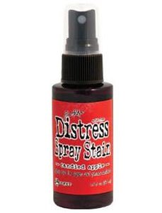 Tim Holtz Distress® Spray Stain Candied Apple, 2oz Spray Stain Tim Holtz