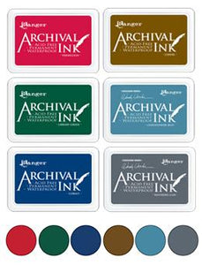 Archival Ink Pad Christmas Bundle!
