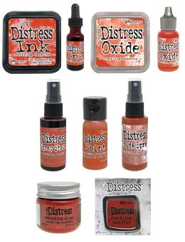 Tim Holtz Distress® Crackling Campfire Bundle Bundles Distress