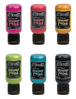 Dylusions Shimmer Paint Bundle 6pk Paint Dylusions