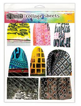 Dylusions Collage Sheets #2 Surfaces Dylusions