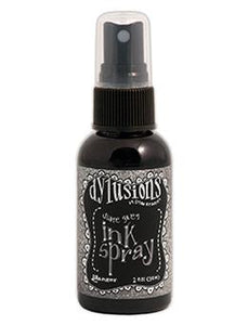 Dylusions Ink Spray Slate Grey, 2oz