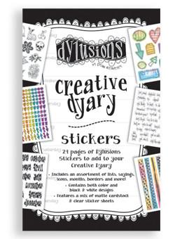 Dylusions Creative Dyary Stickers
