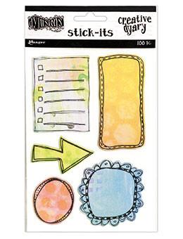 Dylusions Creative Dyary Stick-Its Creative Dyary Dylusions