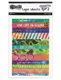 Dylusions Creative Dyary Tape Sheets Creative Dyary Dylusions