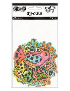 Dylusions Creative Dyary Dycuts - 5, 24pc