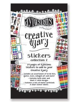 NEW! Dylusions Creative Dyary Stickers 2