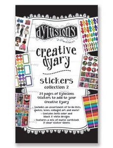 Dylusions Creative Dyary Stickers 2