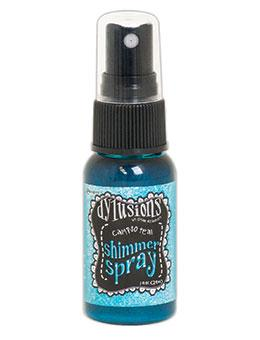 NEW! Dylusions Shimmer Spray Calypso Teal, 1oz