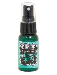 Dylusions Shimmer Spray Polished Jade, 1oz Shimmer Spray Dylusions