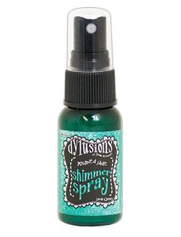 NEW! Dylusions Shimmer Spray Polished Jade, 1oz