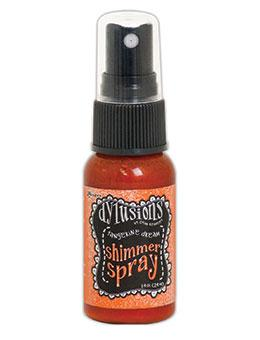 Dylusions Shimmer Spray Tangerine Dream, 1oz Shimmer Spray Dylusions
