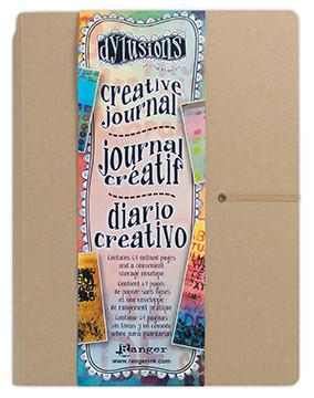 Ranger Ink Dyan Reaveleys Dylusions Creative Journal 8.375 x 5.625 inches Kraft Bundled with 1 Artsiga Crafts Small Project Bag