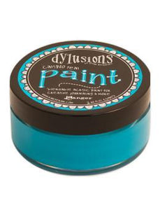 Dylusions Paint Calypso Teal, 2oz Paint Dylusions