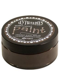 Dylusions Paint Ground Coffee, 2oz Paint Dylusions