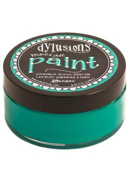 Dylusions Paint Polished Jade, 2oz Paint Dylusions